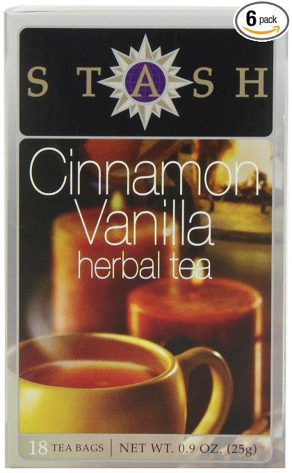 Amazon.com: Stash Tea Cinnamon Vanilla Herbal Tea, 18 Count just $5.10!