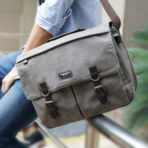 Amazon.com: OXA Canvas Messenger Bag just $29.59 shipped!