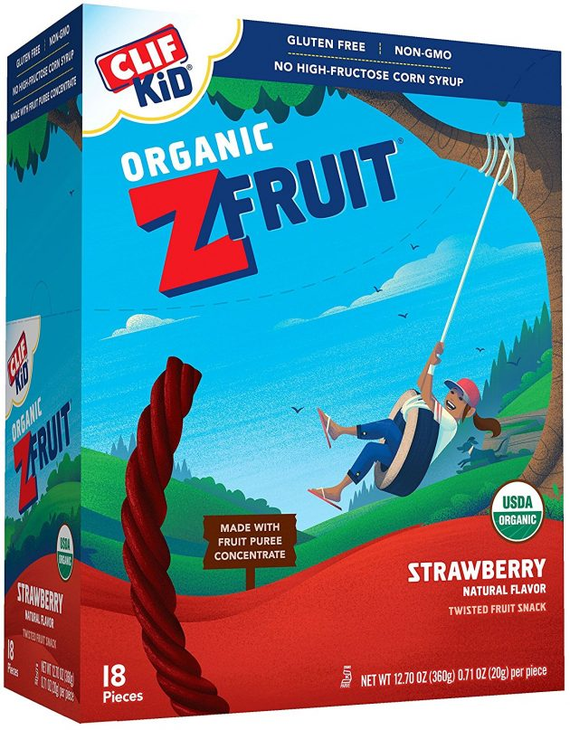 Amazon.com: CLIF Kid ZFruit Organic Strawberry Fruit Snack Ropes (18 count) just $7.13!