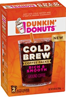 Target: Dunkin' Donuts Cold Brew 2-Count Packs just $3.39!