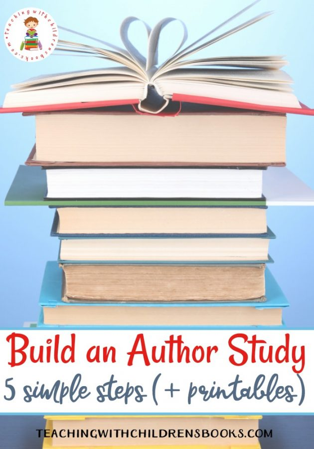 Free Build an Author Study Printable Pack