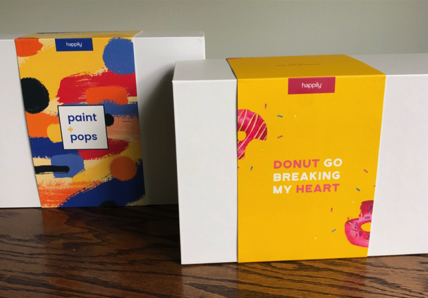 Happily Datebox Kits in the Mail