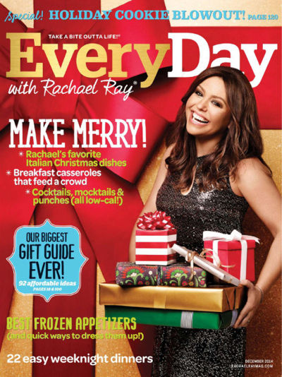 Free subscription to Everyday with Rachael Ray magazine