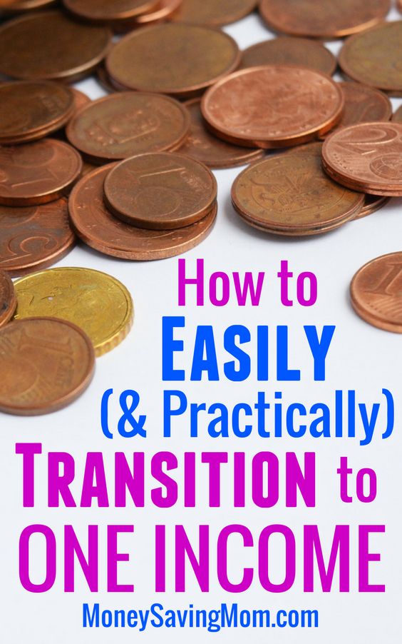 These tips are SO helpful for making the transition from two incomes to one! Perfect for anyone wanting to stay home with children or pursue a work-from-home business!