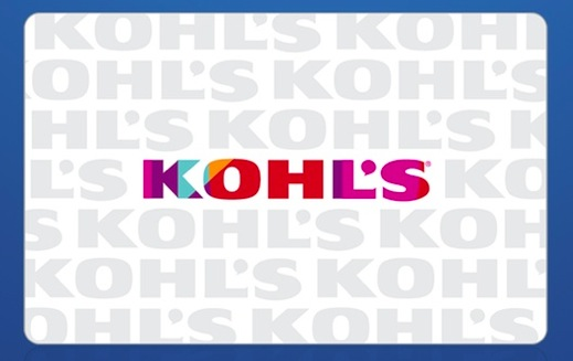 Groupon: Get a $20 Kohl's Gift Card for just $10!
