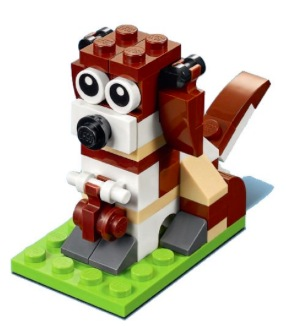 Free LEGO Dog Minibuild on November 7-8, 2017