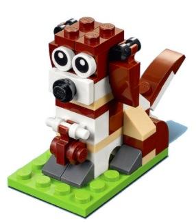 Free LEGO Dog Minibuild on November 7-8, 2017
