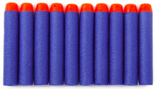 Amazon.com: Blue Foam Darts (100 count) for Nerf-Type Blasters only $3.05 shipped!