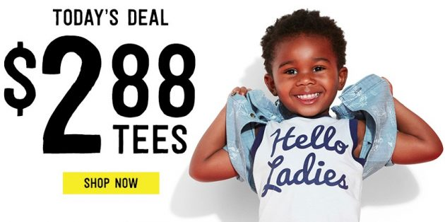Crazy 8: Kids Tees just $2.88 + Free Shipping!