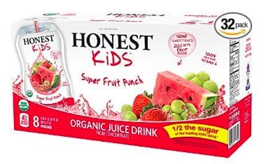 Amazon.com:  Honest Kids Organic Super Fruit Punch Juice Drink (32 pack) just $11.40 shipped!