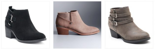 61fb3ca8ee2 Kohl's.com: Up to 70% off Women's Boots = Boots as low as $23.99 per ...