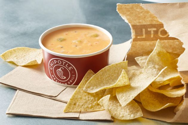 Chipotle: Free Chips & Queso with Entree Purchase!