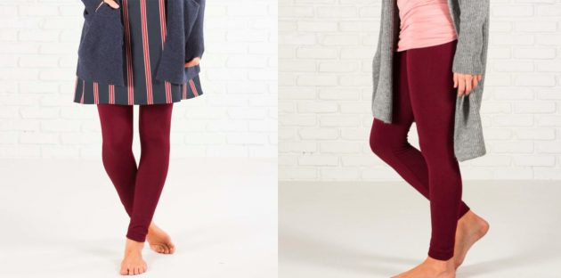 Get Women's Double Fleece Lined Leggings for only $6.99!