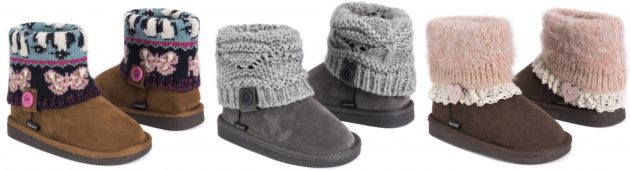Get MUK LUKS Girl's Patti Boots for just $19.99!