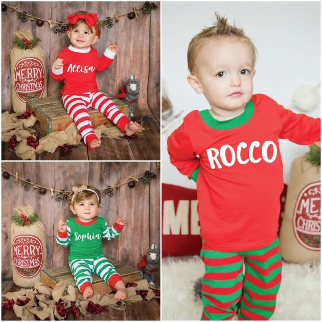Toddler and Kids Personalized Pajamas just $19.99!