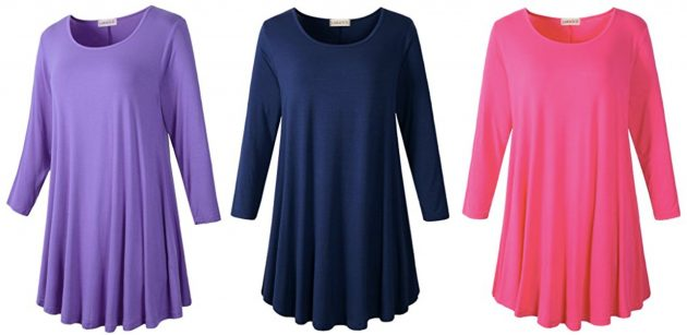 8548e6777acef Women's Flare Tunic Tops just $15.99! - Money Saving Mom® : Money ...