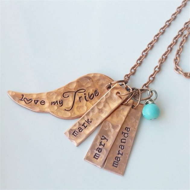 Get a Custom Love My Tribe Necklace for just $13.50!
