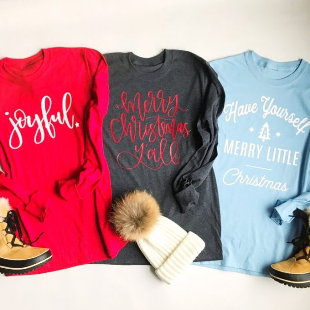 Get a Holiday Long Sleeve Tee for just $14.99!
