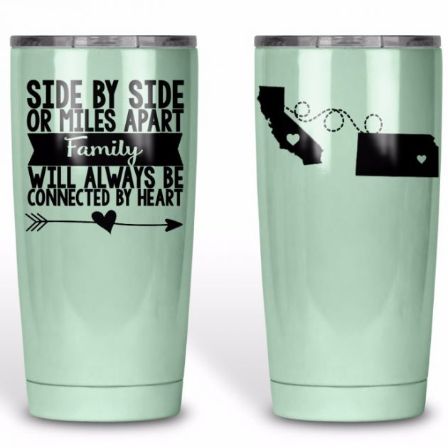 Get Miles Apart Personalized Tumblers for just $24.99 each!