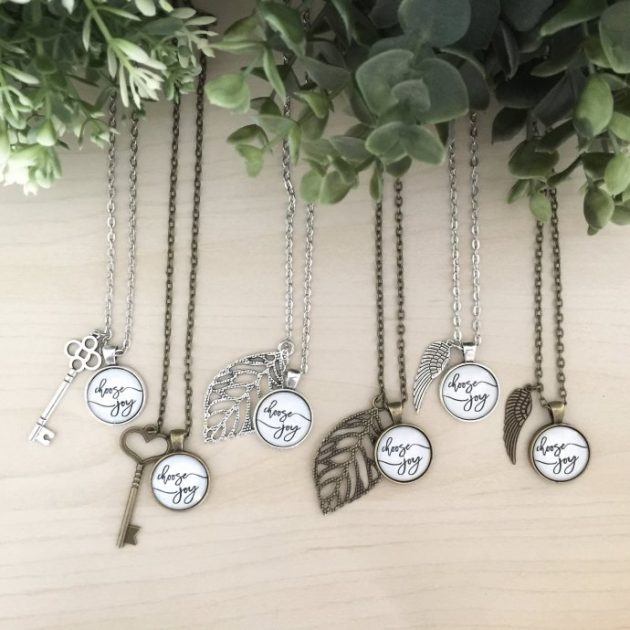 Get a Choose Joy Necklace for only $9.99!
