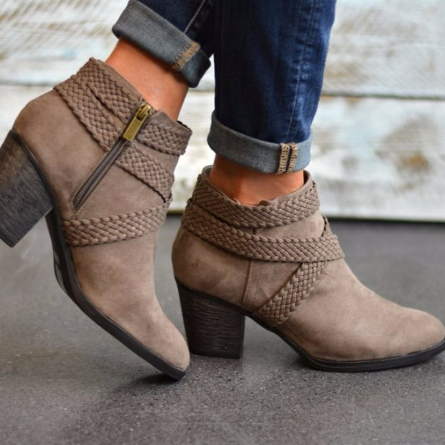 Get Crisscross Strap Booties for just $24.99!