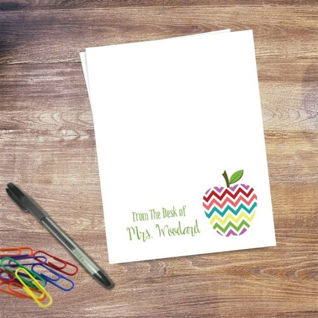 Get a Personalized Teacher Notepad for only $7.99!