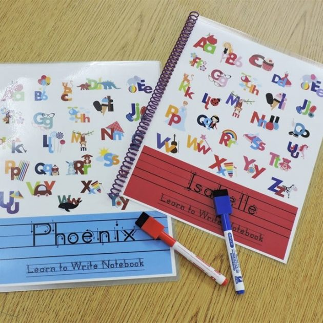 Get a Personalized Laminated Writing Pad for just $14.99!