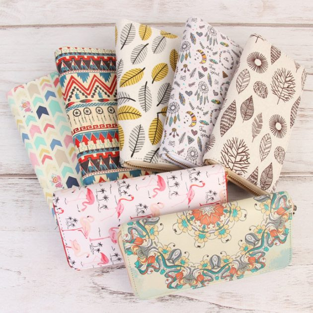 Get a Cute Print Fashion Wallet for just $5.99!
