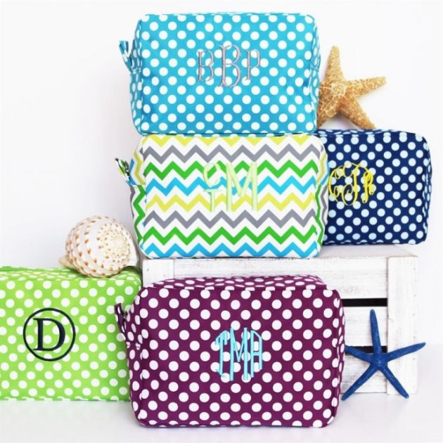 Get a Personalized Cosmetic Bag for only $8.99!