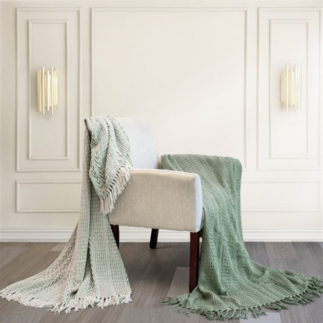 Get 100% Cotton Throws (2 pack) for just $24.99 + Free Shipping!