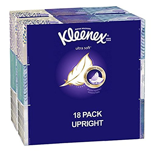 Amazon.com: Kleenex Ultra Soft Facial Tissues (18 boxes) just $12.45 shipped!