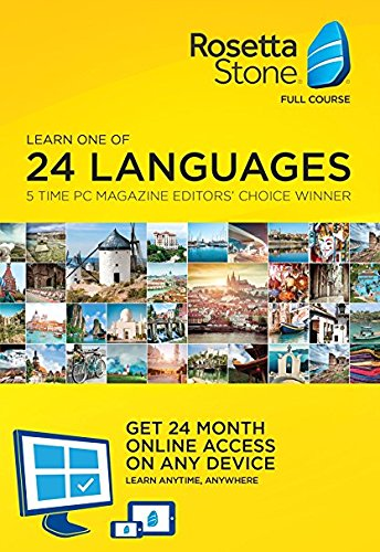 Amazon.com: Rosetta Stone Lifetime Download with 24 Month Online Access just $179 shipped!