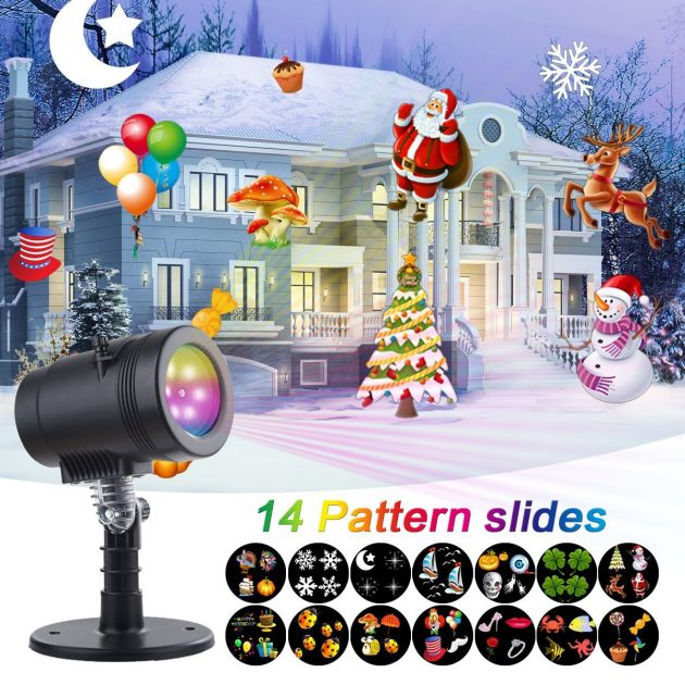 Amazon.com: Christmas Projector Lights just $24.99!