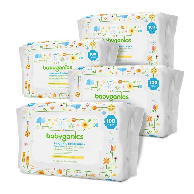 Amazon.com: Babyganics Baby Wipes (400 count) just $6.64 shipped!