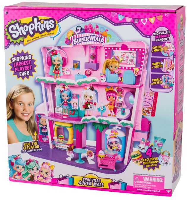 Amazon.com: Shopkins Shoppies Shopville Super Mall just $56.97 shipped!