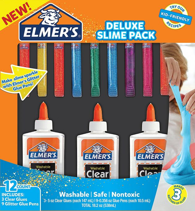 Amazon.com: Elmer's Glue Deluxe Slime Starter Kit just $7.99!