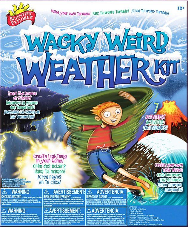 Amazon.com: Scientific Explorer Wacky Weird Weather Kit only $9.05!