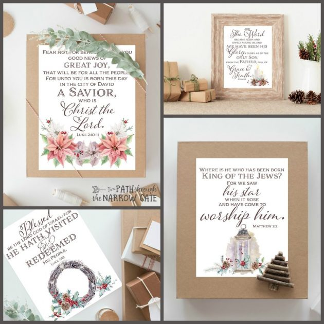 photograph regarding Free Printable Bible Verses to Frame named Totally free Xmas Bible Verse Printables Economical Preserving Mother