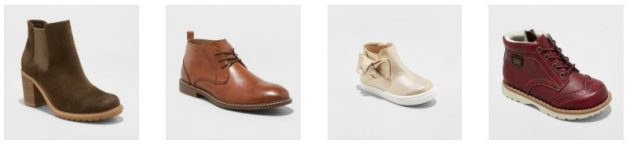 Target Cartwheel: 20% off Shoes & Boots for the Family