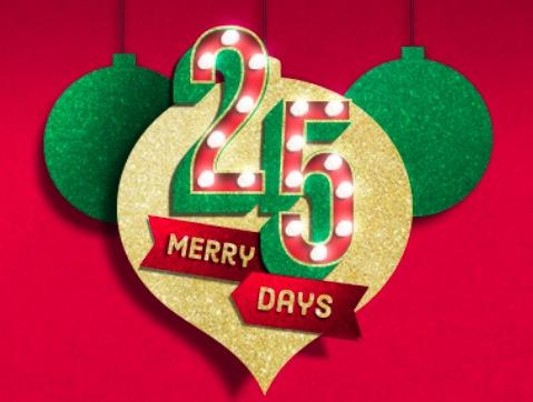 Kroger: 25 Merry Days Promotion Starting November 24, 2017