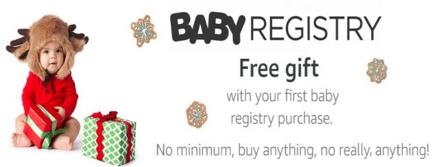 Amazon.com: Free Gift with Baby Registry Purchase