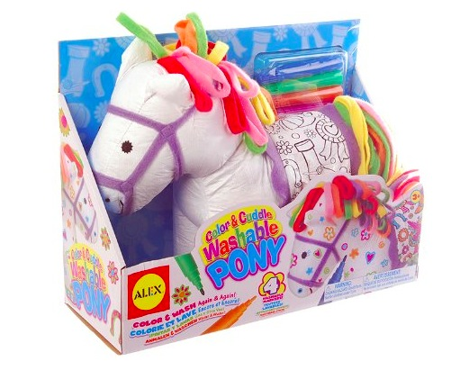 Amazon.com: ALEX Toys Craft Color and Cuddle Washable Pony only $8!