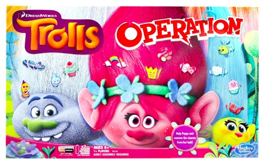 Amazon.com: Trolls Operation Board Game just $12.97!
