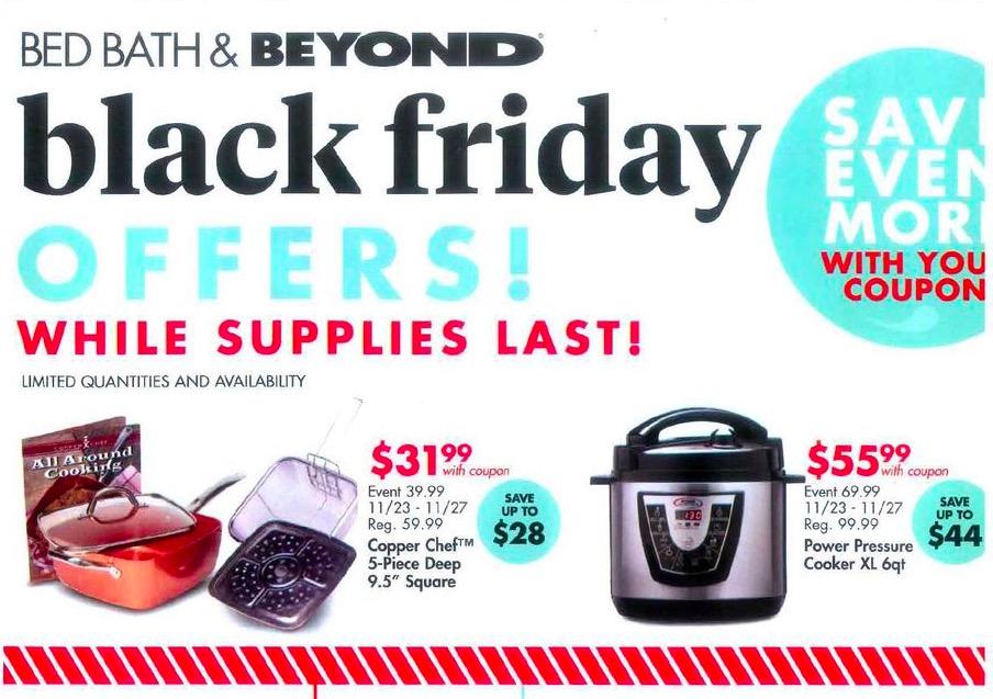 Bed Bath And Beyond Black Friday Kitchen Deals
