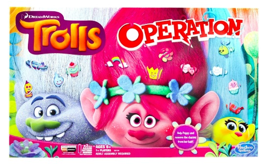 Amazon.com: Trolls Operation Board Game only $10.99!
