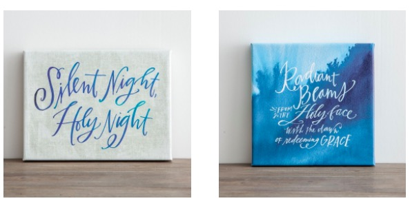 Dayspring black friday markdowns 30 off coupon code great these beautiful silent night gallery wrapped canvas wall hangings are just 1260 after coupon code reg 20 fandeluxe Choice Image