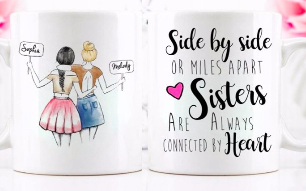 Get a Personalized Best Friend Coffee Mug for only $12.49!