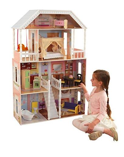 Kidkraft Savannah Dollhouse With Furniture For Just Shipped Money Saving Mom