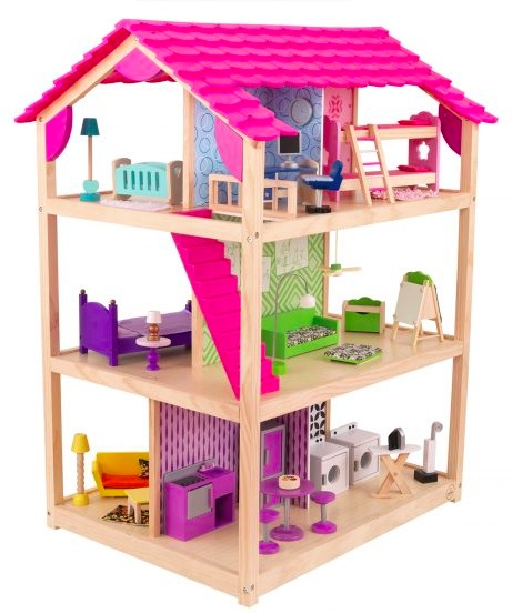 Walmart.com: KidKraft So Chic Dollhouse with 46 Accessories only $114.95 shipped!