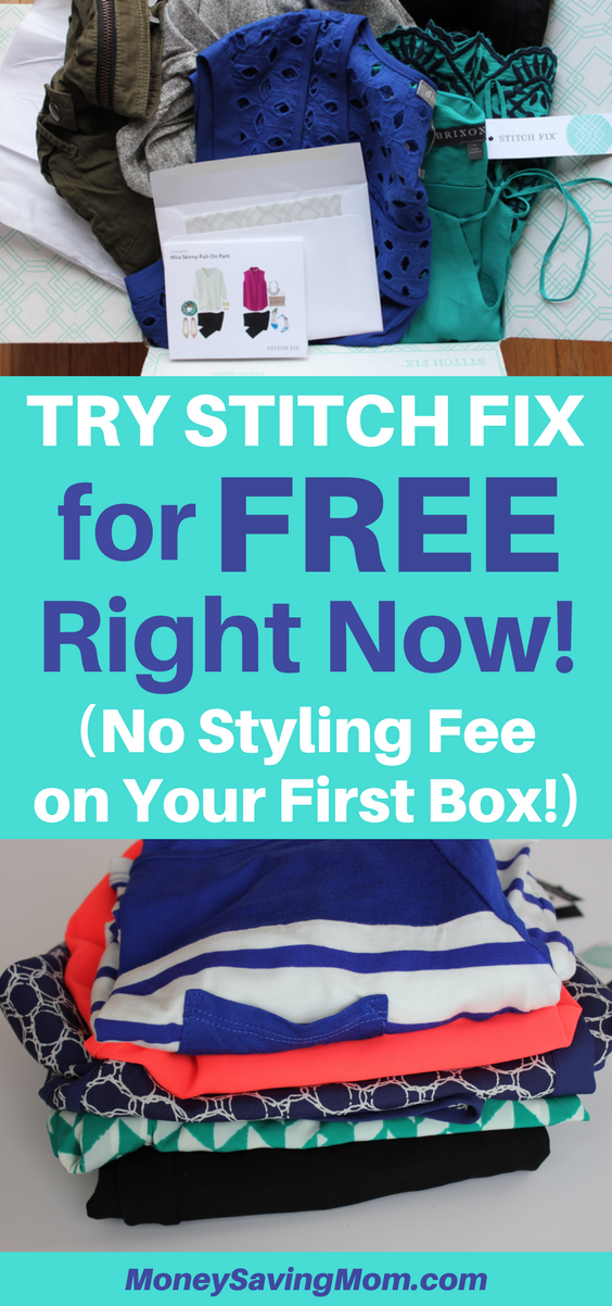 Have you been wanting to try Stitch Fix? Try it risk-free this month, with the styling fee being waived!! This is unheard of!